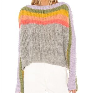 Free People Sweaters - Free People Rainbow Sweater